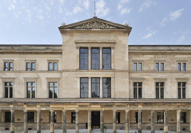 Neues Museum auf der Museumsinsel Berlin