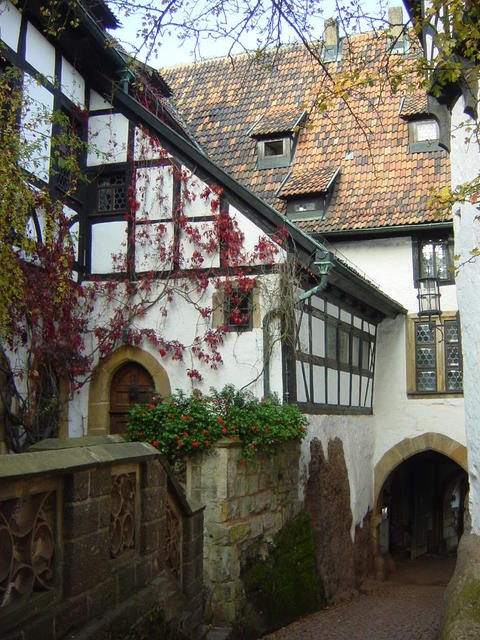 Innenhof der Wartburg