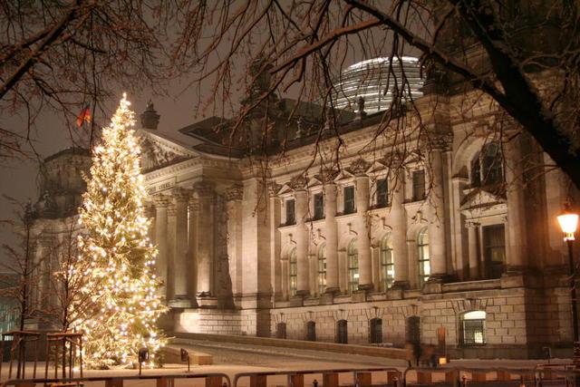 Reichstag im Dezember