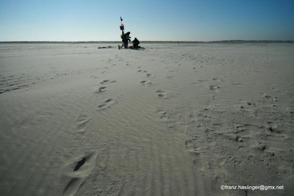 Am Nordstrand bei den Olde Dünen
