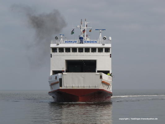 Das Fährschiff Ostfriesland