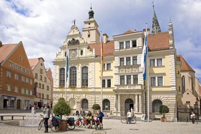 Das Alte Rathaus in Ingolstadt