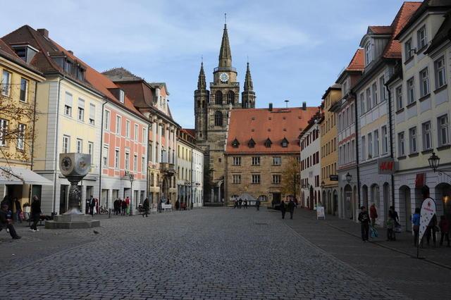 Die Stadt Ansbach