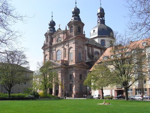 Die Jesuitenkirche in Mannheim