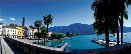 Am Ufer in Ascona