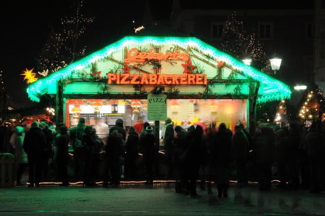 Pizza zu Weihnachten?