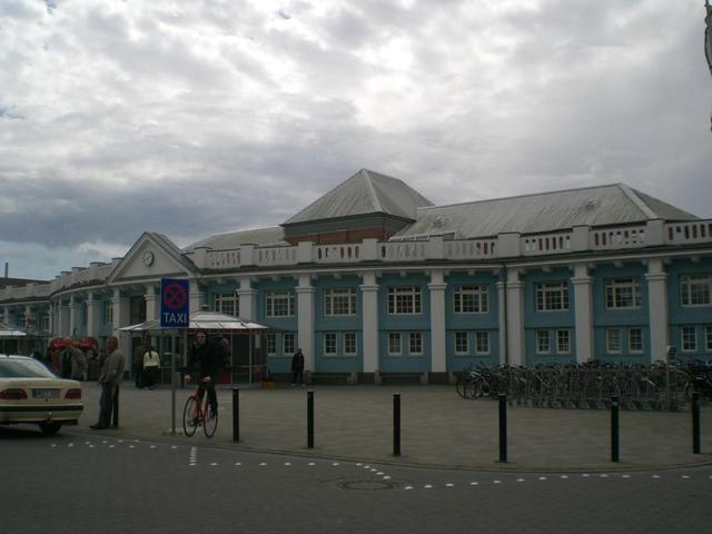 Der Bahnhof in Rostock