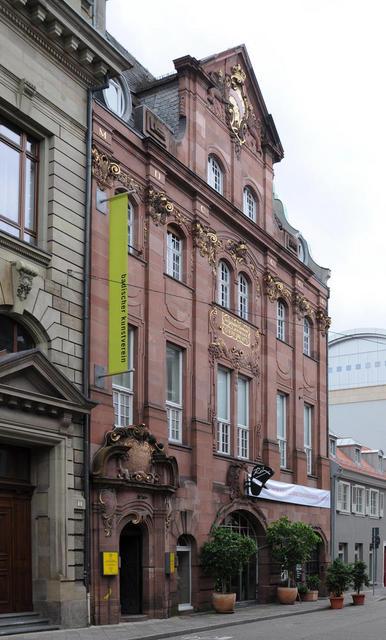 Gebäude des Badischen Kunstvereins