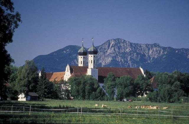 Das Kloster Benediktbeuern im Tölzer Land