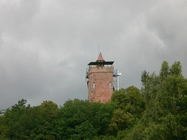 Die pfälzer Burg Berwartstein