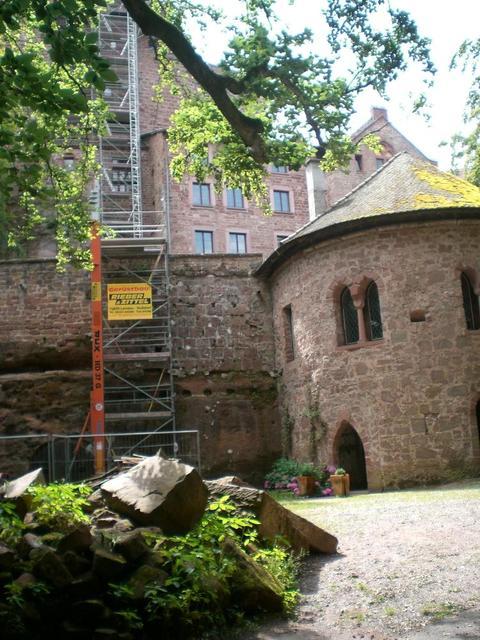Burg Berwartstein in der Pfalz