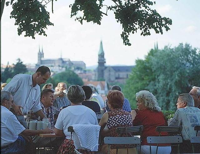 Fränkische Gemütlichkeit in Bamberg