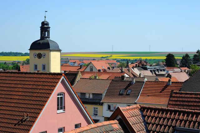 Blick über Kirchheimbolanden