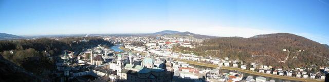 Blick von der Festung (Panorama)