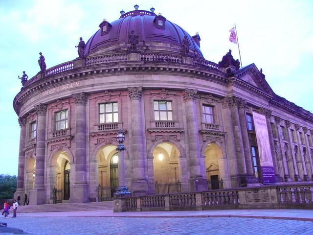 Das Bode-Museum auf der Berliner Museumsinsel