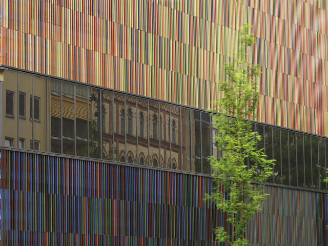 Die Fassade des Museums Brandhorst