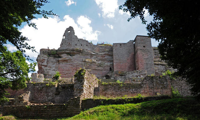 Burg Fleckenstein