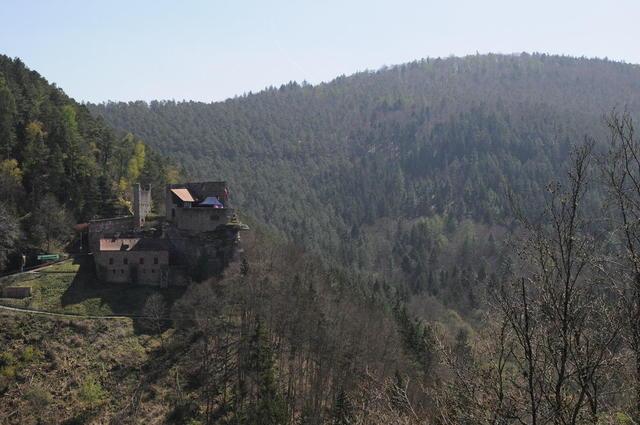 Burg Spangenberg und Umgebung