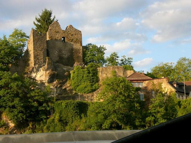 Die Ruine der Halser Burg