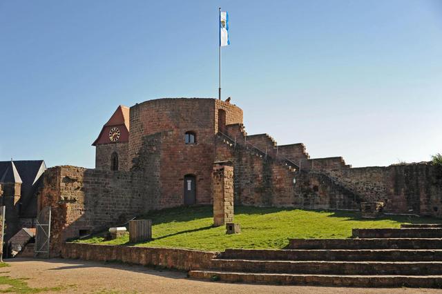 Aussichtstum der Burg Neuleiningen