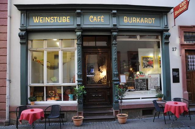 Das Café Burkhardt