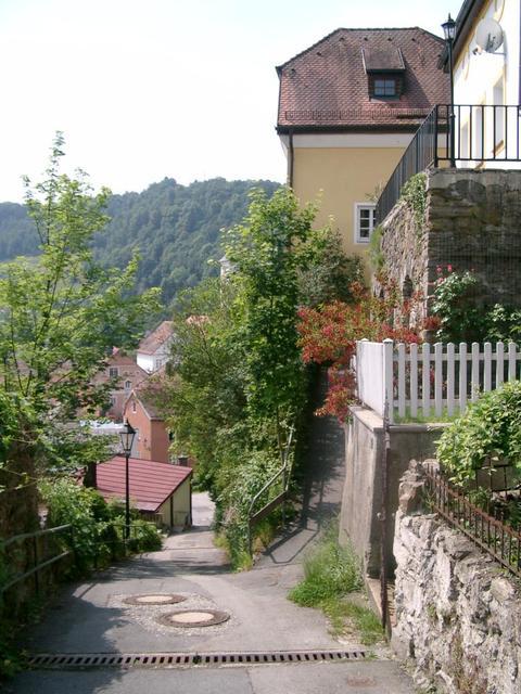 Burgweg im Passauer Stadtteil Hals