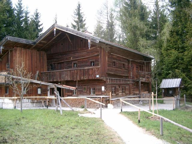 Bauernhaus im Freilichtmuseum Glentleiten