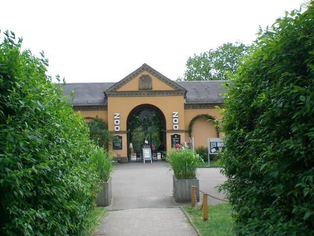 Eingang in den Heidelberger Zoo