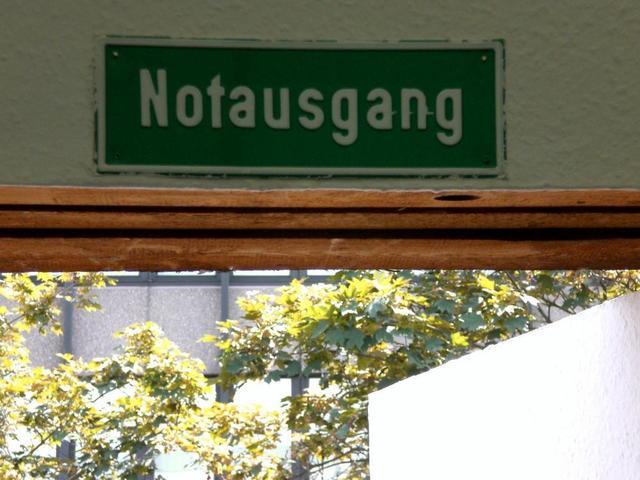 Tür im Kunstverein Mannheim