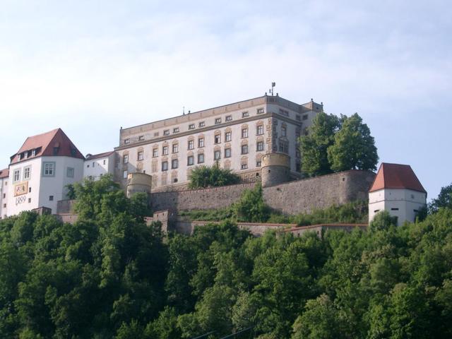 Veste Oberhaus hoch über Passau