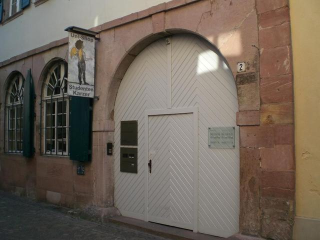 Der Eingang zum Karzer
