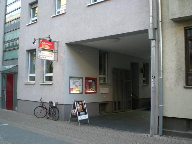 Durchgang zum Kulturfenster Heidelberg