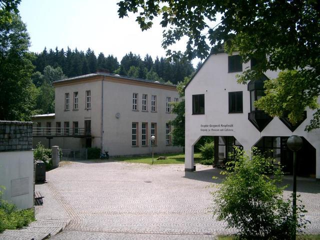 das Besucherbergwerk Kropfmühl