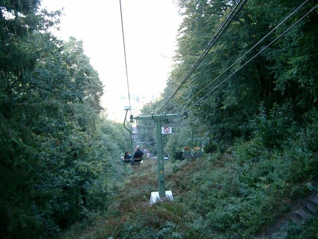 Fahrt mit der Bergbahn
