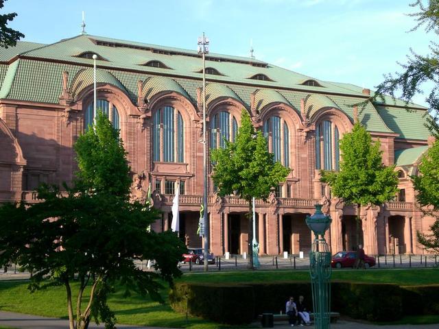 Veranstaltungsort Rosengarten in Mannheim