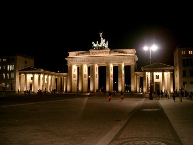 Brandenburger Tor bei Nacht