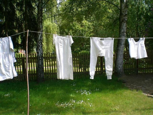 alte Wäsche