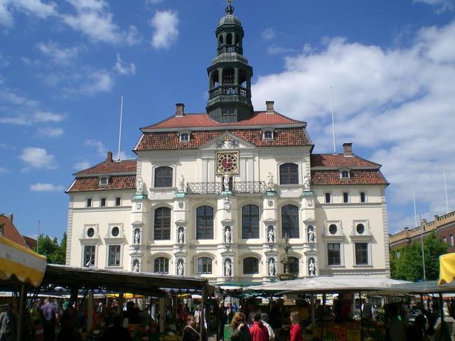 das Rathaus in Lüneburg