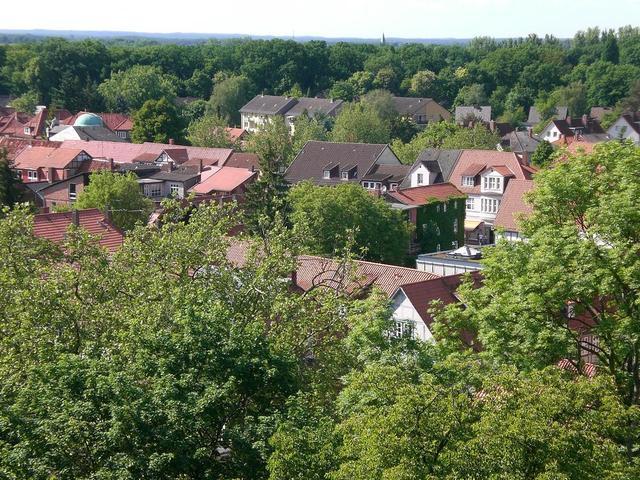 Blick vom Amtsturm auf Lüchow