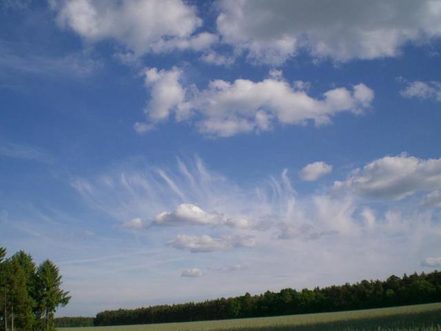 der Himmel über Niedersachsen
