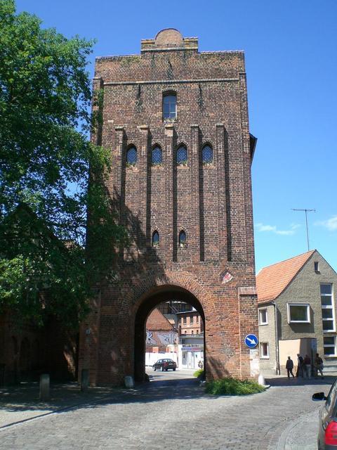 Neuperver Tor, Blick stadteinwärts