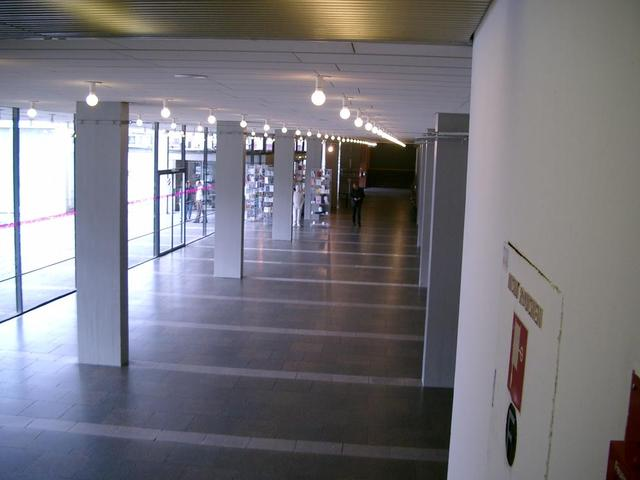 das Foyer im Nationaltheater