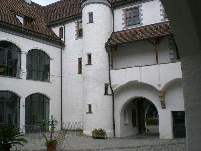das Antonierhaus in Memmingen mit seinem wunderschönen Innenhof