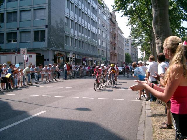 Radrennen in Mannheim