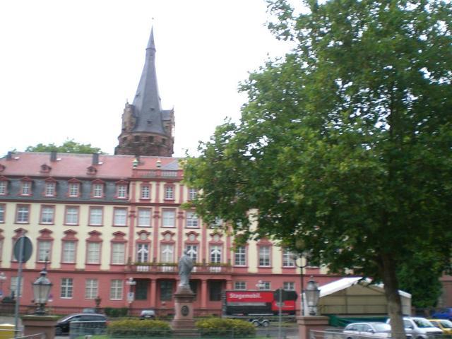 das Schloss in Erbach