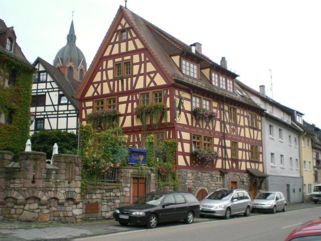Malerisches Fachwerkhaus in Heppenheim