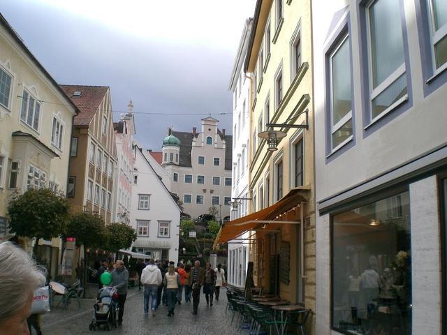 Fußgängerzone in Kempten