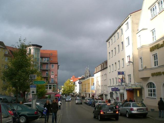 Einkaufsstraße in Kempten