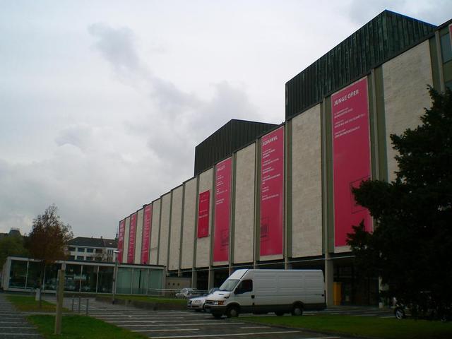 das Nationaltheater Mannheim