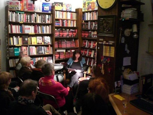 Autorenlesung im Bücherladen Neckarstadt